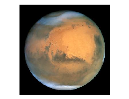 NASA Sees Strange Light On Mars